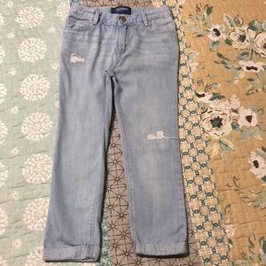 Old Navy Distressed cropped Jeans